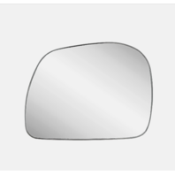 Fits 99-16 F250, F350 Super Duty 00-05 FD Excursion Driver Mirror Glass w/Holder