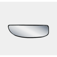 Fits 02-14  Van 99-07 Super Duty 00-05 Excursion Left Lower Mirror Glass w/Holder