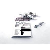 Defroster Tab Repair Kit for Rear Back Glass w/ 2 Replacement Connector Tabs