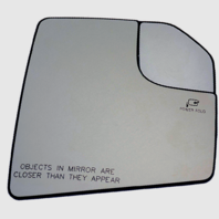 Fits 15-18  F150 Rt Pass Mirror Glass w/Heat Holder Spot Mirror Pwr Fold OE