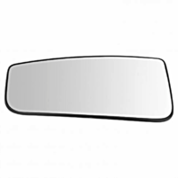 Left Driver Lower Convex Tow Mirror Glass w/ Holder OE for 15-18 Ford F150, 17-19 F250 F350 F450 Heated