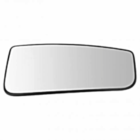 Right Pass Lower Convex Tow Mirror Glass w/ Holder OE for 15-18 Ford F150, 17-19 F250 F350 F450 Manual