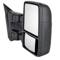 For 11-16  Super Duty Mirror Right Pass Mirror Assm Manual w/ Temp Sensor