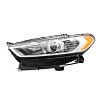 Fits 13-16  Fusion Left Driver Side Headlamp Assembly Halogen