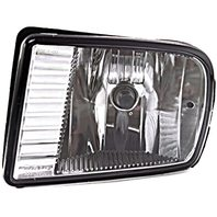 BAP Fits 00-02 LS Left Driver Fog Lamp - Rectangular Design