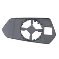 Fits 10-15 Chevy Camaro Right Passenger Convex Mirror Glass w/ Holder