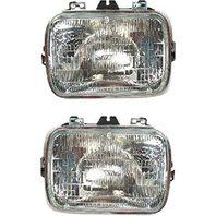Sealed Beam Headlight Fits 96-18 Express, GM Savana Van Left & Right Set