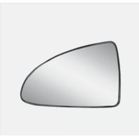 Fits 04-08 Malibu / Maxx / G6  Left Heated Mirror Glass  w/Holder non Foldaway
