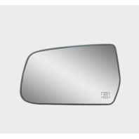 For 10-14 Equinox, Terrain Left Driver Heated Mirror Glass w/Rear Holder