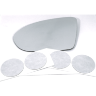 Fits 16-19 Cruze, 18-19 Regal Left Driver Heated Mirror Glass Lens w/ Adhesive