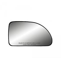 Fits 05-09 Equinox Torrent 02-07 Vue Right Pass Mirror Glass w/ Rear Holder