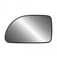 Fits 05-09 Equinox Torrent 92-07 Vue Left Driver Mirror Glass w/ Rear Holder