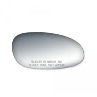 Fits 97-05 Century, Regal, Intrigue Right Pass Mirror Glass Lens w/Adhesive