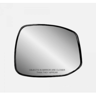 Fits 12-13  Civic Right Passenger Heated Mirror Glass w/Holder  non Hybrid