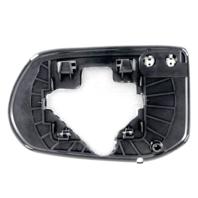 Fits 08-11 Civic 4dr Sedan Right Passenger Mirror Glass w/Holder Excludes Hybrid