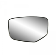 Fits 08-12 Honda Accord Left Driver Mirror Glass w/ Rear Holder