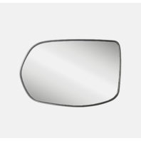 Fits 07-11 Honda CR-V Left Driver Mirror Glass w/Back Plate Heated