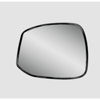 Fits 12-13  Civic Left Driver Mirror Glass w/ Holder  non Hybrid
