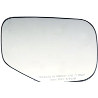 Fits 06-08 Ridgeline Right Pass Heated Convex Mirror Glass w/ Holder