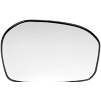 Fits 09-14  Fit Left Driver Mirror Glass w/Rear Holder
