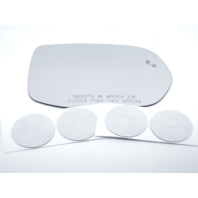 For 17-19 CR-V Right Pass Mirror Glass Lens w/Blind Spot Detect Icon w/ Adhesive