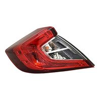 VAM Fits 16-18 Civic Sedan Left Driver Outer Body Qtr Mount Tail Lamp Assembly