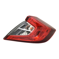 Fits 16-18 Civic Sedan Right Passenger Outer Body Qtr Mount Tail Lamp Assembly