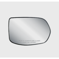 Fits 07-11 Honda CR-V Right Passenger Convex Mirror Glass w/Back Plate Heated