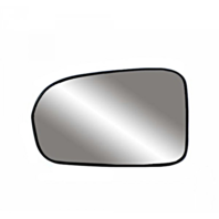 Fits 01-05 Civic Coupe, Sedan Left Driver Mirror Glass w/ Holder