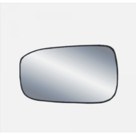 Fits 03-07 Honda Accord Left Driver Mirror Glass w/ Holder