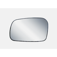 For 06-11  Civic 2 Door Coupe Left Driver Mirror Glass w/ Rear Holder