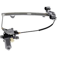 Fits 03-09 Hummer H2, 05-09 H2 SUT Rear Left Driver Window Regulator With Motor