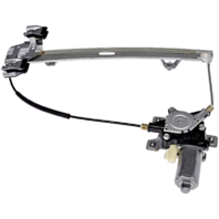 Fits 03-09 Hummer H2, 05-09 H2 SUT Rear Right Passenger Window Regulator With Motor