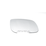 Fits 15-19  Sedona Right Pass Convex Heated Mirror Glass Lens w/ Adhesive