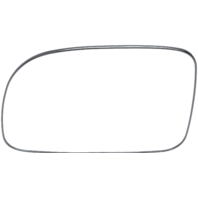 Fits 07-12 Hyundai Santa Fe Left Driver Mirror Glass w/ Rear Back Plate