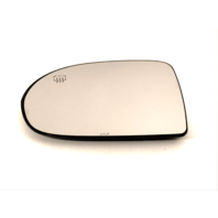 Fits 09-17*  Compass Left Driver Mirror Glass Heated w/Holder OE (2017 2Options)