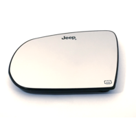 Fits 17-18 Jp Compass Left Driver Heated Mirror Glass & Holder OE (2 Options)