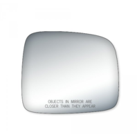 Fits 02-07 Jeep Liberty Right Pass Convex Mirror Glass Lens Only  w/Adhesive