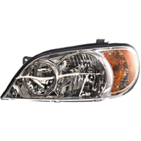 Fits 02-05 Sedona Left Driver Halogen Headlight Assembly