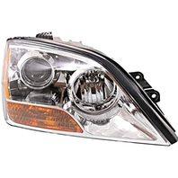 Fits 07-09 Sorento Right Passenger Headlight with Chrome Bezel