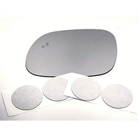 Left Driver Mirror Glass Lens w/Adhesive for 17-20 Soul w/Etched BlindSpot Icon