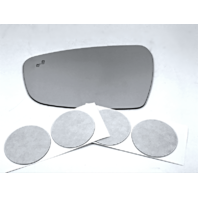Fits 17-19 Kia Forte Left Driver Mirror Glass Lens w/ BlindSpot Crosspath Icon*