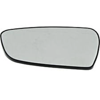 Left Driver Heated Mirror Glass w/Rear Back Plate for 14-18 Kia Forte, Forte5