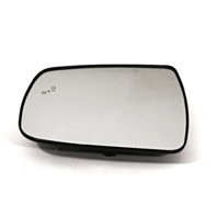 Left Driver Mirror Glass & Holder w/ Blind Spot Heated for 17-19 Kia Forte OE