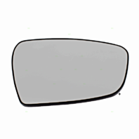 Right Pass Heated Mirror Glass w/Rear Back Plate for 14-18 Kia Forte, Forte5