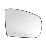 Heated Right Passenger Mirror Glass for 02-05 Mercedes ML w/ Rear Holder
