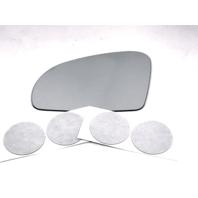 Fits MB SL, SLK, SLC, Left Driver Mirror Glass Lens w/Adhesive