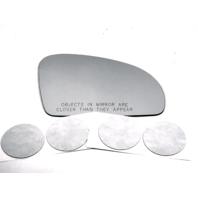 Fits MB SL, SLK, SLC, Right Passenger Mirror Glass Lens w/Adhesive