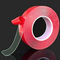 Clear Double-Sided Attachment Tape 1/2 x 16.5