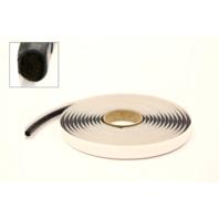8m x 10' Foam Core Round Butyl Tape Roll Auto Glass Adhesive Soft Seal